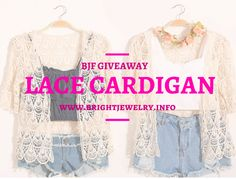 BJF x tauyanm.com Lace Cardigan #Giveaway! | Fashion Travels  1 winner will win a Lace Cardigan from ROMWE worth $20 and a 2014 Planner worth $15. www.tauyanm.com #fashion #giveaway #recipe #celebrity #DIY