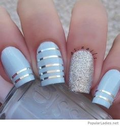 light-blue-long-nails-with-silver-accents