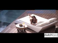 Dutchbed is a modern designed lounge bed by Dita Living Ibiza and is brought to you by Uncapp BV in The Netherlands. Outdoor Furniture, Outdoor Decor, Ibiza, Lounge, Modern, Youtube, Home, Design, Airport Lounge