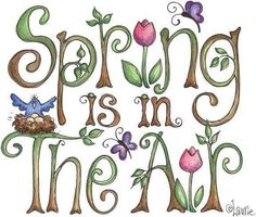 I love spring! Spring is tulips, bird's nest with eggs, butterflies, and fresh green plant shoots! Welcome Spring, Spring Sign, Spring Is Coming, Spring Is Here, Happy Spring, Hello Spring, Vernal Equinox, Spring Fever, Spring Has Sprung