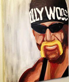 Hulk Hogan by Tony Menchaca #WWE