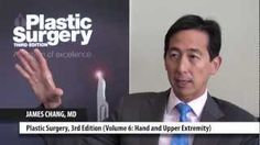 "Dr. James Chang discusses his book ""Volume 6: Hand and Upper Extremity"" in ""Plastic Surgery, 3rd Edition,"" his areas of interest in hand surgery, and the differences in pediatric and adult treatments."