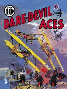 Unknown - Dare-Devil Aces: The Dead Will Fly Again - art prints and posters
