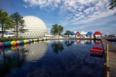 Ontario Place view of Cinesphere Movie Theatre Movie Theater, Theatre, Ontario Place, Family Destinations, Downtown Toronto, Photo Essay, Great Photos, Places To Go, Beautiful Places