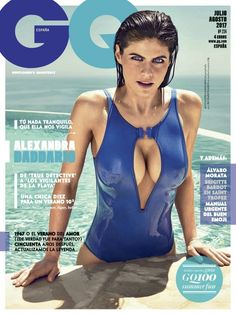 With Baywatch in theaters, actress Alexandra Daddario showcases her fantastic swimsuit body on the cover of GQ Spain magazine. Beautiful Celebrities, Beautiful Actresses, Gorgeous Women, Alexandra Anna Daddario, Alexandra Daddario Baywatch, Non Blondes, Christina Milian, Hollywood Celebrities, Look Fashion