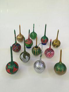 Hand painted golf balls