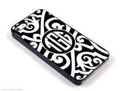 Gatsby Deco iPhone 5 4 Case Samsung Galaxy s2 by CaseOfIdentity