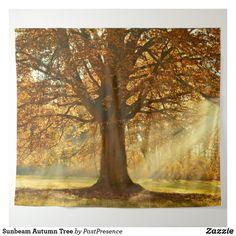Sunbeam Autumn Tree Tapestry