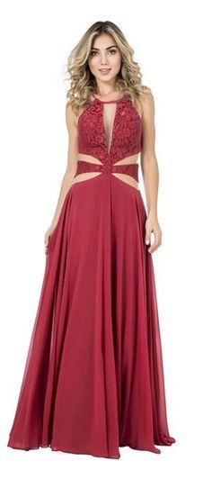 cba4825da 49 melhores imagens de vestidos dolps | Long dresses, Long gowns e ...