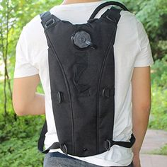 PackMasters Hydration Pack with 2.5L Backpack Water Bladder and Adjustable shoulder Strap Hunting Climbing Running Hiking Outdoors (Black) -- Want to know more, visit https://www.amazon.com/gp/product/B01BMO2R30/?tag=homeimprtip08-20&puv=170716230223