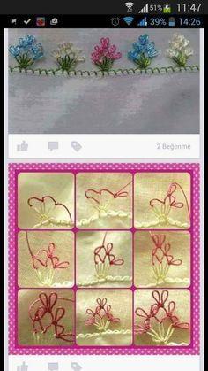 Filet Crochet, Stitch Crochet, Needle Tatting, Needle Lace, Needle And Thread, Sticker Chart, Point Lace, Tatting Patterns, Irish Lace