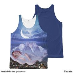 Pearl of the Sea All-Over Print Tank Top