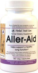 HerbalMediCare AllerAid Seasonal 90 Vegetarian Capsules ** More info could be found at the image url.