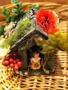 Diy fairy house use your creativity and put your imagination to use diy fairy house use your creativity and put your imagination to use with a do it yourself fairy house craft kit a perfect birthday gift for a fairy garden solutioingenieria Gallery