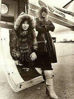 Ann, Nancy & awesome plane.