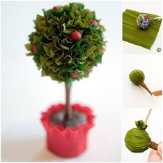 How to DIY Sweet Lollipop Tree | www.FabArtDIY.com