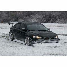 Evo x in snow