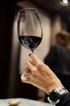 Le unghie color vino rosso