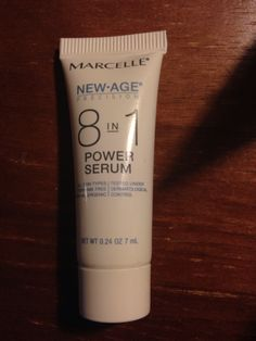 Marcelle new age 8-in-1 power serum 0.24oz never used