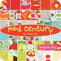Mod Century Charm Pack Jenn Ski for Moda Fabrics - Fat Quarter Shop