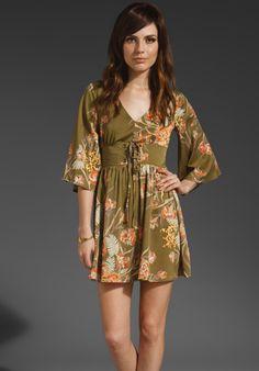 MINKPINK Yoko Flared Sleeve Dress in Multi at Revolve Clothing - Free Shipping!