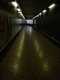 tunel metro Santiago