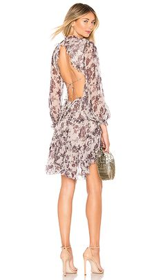 457eeadc2c40 Zimmermann Juno Floating Dress in Aged Batik | REVOLVE World Of Fashion,  Collections, Cold