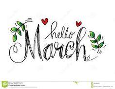 Картинки по запросу march lettering