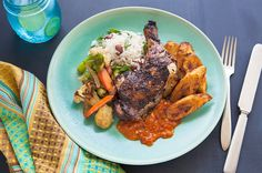 Jerk Chicken on Munchery