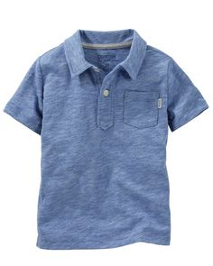 Toddler Boy Jersey Polo from OshKosh B'gosh. Shop clothing & accessories from a trusted name in kids, toddlers, and baby clothes.