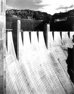 Hoover Dam. Photo by Ansel Adams. Date: 1941