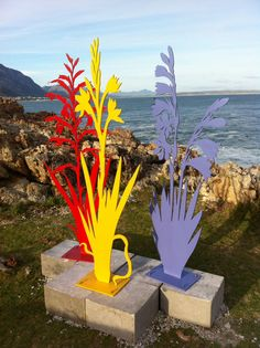 Jaco Sieberhagen's sculpture on the cliff path Jaco, Cliff, Sculpture Art, Paths, All Things, Events
