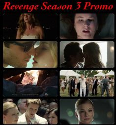 revenge 3 Revenge Season 3, Revenge Abc, Sweet Revenge, Latest Pics, Favorite Tv Shows, Movie Tv, My Love, Books, Movie Posters