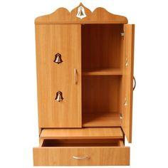 10 Simple & Latest Pooja Room Designs In Wood - DecorPins