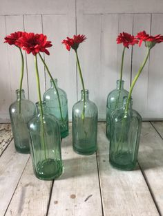 A personal favourite from my Etsy shop https://www.etsy.com/uk/listing/514826390/heavy-french-vintage-soda-syphon-bottles
