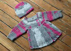 Crochet Ribbed Toddler Size 1218 Months Girl by shutterbugette, $39.99