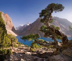 Tajikistan mountains...
