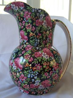 Royal Winton Chelsea chintz Suez large jug 1951-52
