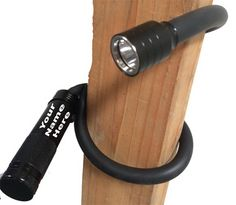 """Flex Neck Flashlight-""""The Black Mamba"""" Light Table, A Table, Wood Post, Nook And Cranny, Black Mamba, Nooks, Holidays And Events, Flashlight, Campers"""