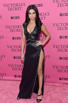 Selena Gomez looks amazing at the 2015 Victoria's Secret Fashion Show