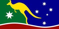 Australian flag proposal _ All Australian Flag by Gary Drinnan