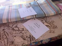 Normandie Toile Fabric by Annie Sloan at Shades of Amber