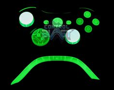 Glow In the Dark Xbox 360 Custom Controller Xbox 360 Controller, Xbox Console, Final Fantasy Art, Education Architecture, Xbox Games, Video Game Console, Celebrity Weddings, Art Quotes, The Darkest
