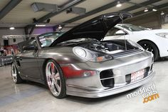 Porsche boxster with gt2 bodykit daa tuning show 2010 pictures
