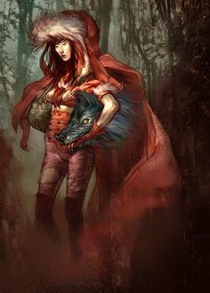 Red Riding Hood Redo by naomiful.deviantart.com