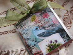 Print of Blue Bird CollageGod Gives Each Of Us A by digiliodesigns, $20.00