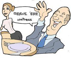 Serve - served - served