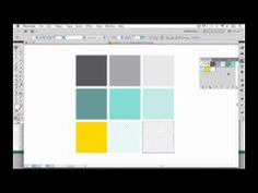 free video tutorial: How to organize palettes in Illustrator (such as the swatches palette, symbols palette, brushes palette, and graphic styles palette). #AdobeIllustrator