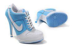 8d8a8464a5799 Nike Air Max 2009 High Heels White Black  AJH1 123  jordan heels for ...