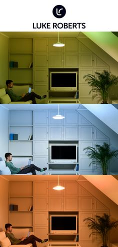 The world's first smart design lamp by Luke Roberts. Unique directional lighting technology and multi-color indirect light. Alphabet Code, Luke Roberts, Smart Design, Living Room Lighting, Downlights, Lamp Design, White Light, Light Colors, Future House